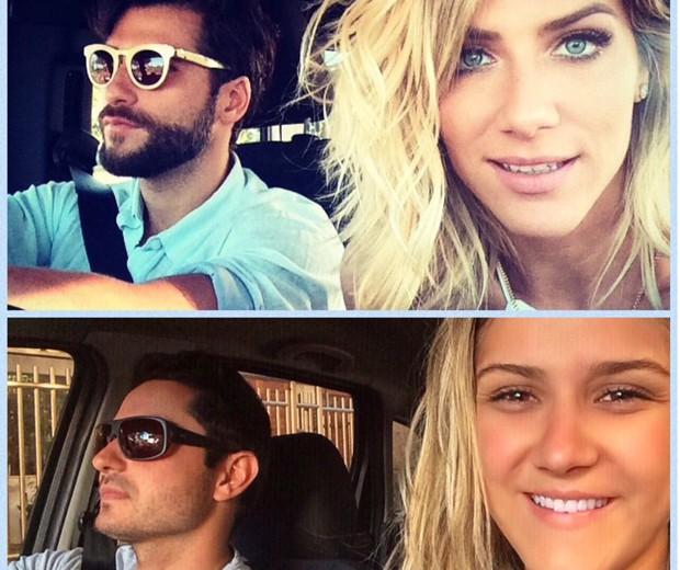 Giovanna Ewbank e Bruno Gagliasso ganham sósias em rede social (Foto: Arquivo pessoal)