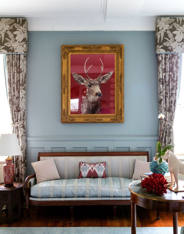 O lar da decoradora de bill clinton casa vogue interiores - Decoradora de casas ...
