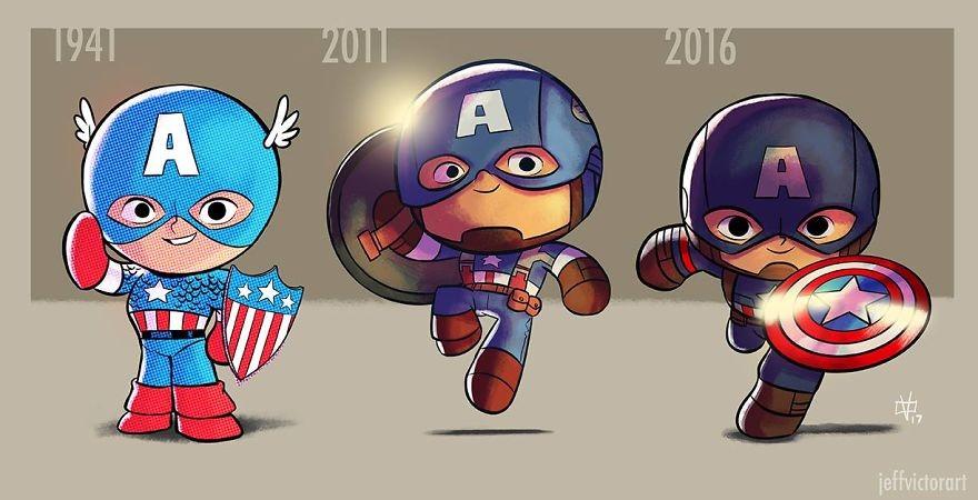 Capitão América (Foto: Reprodução/Jeff Victor)
