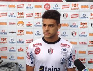 Ronaldo, atacante do Joinville (Foto: Divulgação/JEC)