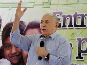 Siqueira Campos, governador do Tocantins (Foto: Luciano Ribeiro/ATN)
