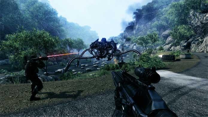 Crysis mais barato na Xbox Live (Foto: Divulgação/EA)