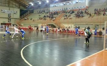 Sorocaba Futsal x Blumenau, pela Liga Futsal (Foto: Emílio Botta)