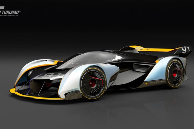 McLaren Ultimate Vision Gran Turismo (Foto: Divulgação)