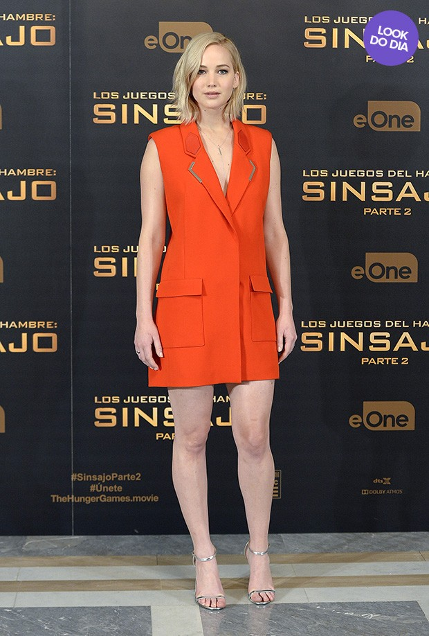 Look do dia - Jennifer Lawrence (Foto: Getty Images)
