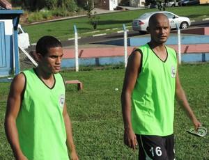 Rafael e Joseilton do Presidente Prudente Futebol Clube PPFC (Foto: Ronaldo Nascimento / GloboEsporte.com)
