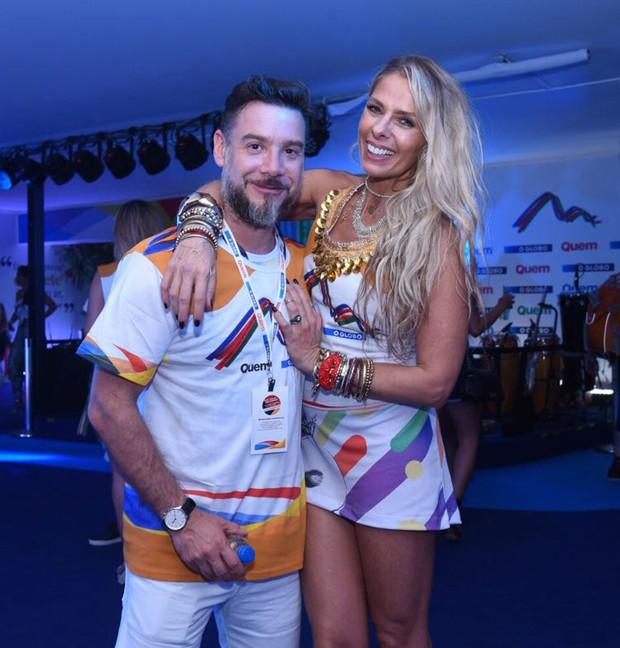 Adriane Galisteu e Alexandre Iódice (Foto: Renato Wrobel/ Ed. Globo)