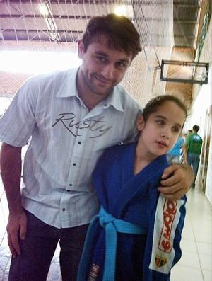 Luiza Oliano judô judoca (Foto: Arquivo Pessoal)