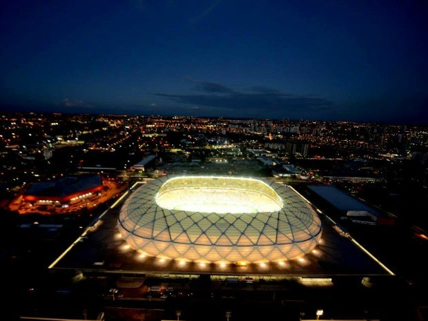 Arena da Amazônia recebe quatro jogos durante a Copa do Mundo (Foto: Chico Batata)