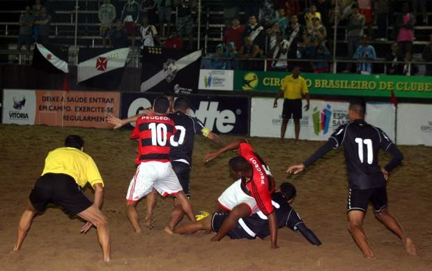 Vasco venceu o Flamengo por 3 a 2, no Brasileiro de Clubes (Foto: Pauta Livre)