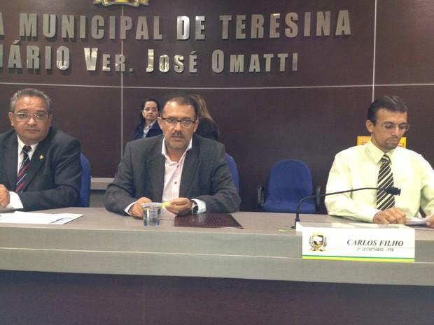 Vereadores pedem implantação imediata da guarda municipal em Teresina (Foto: Gilcilene Araújo/G1)