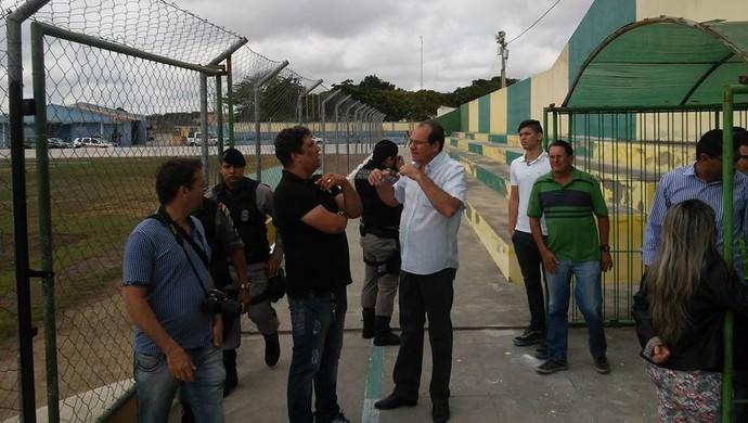 estádio galdinão, pocinhos, vistoria (Foto: Divulgação)