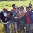 PF diz que usou arma letal em reintegração (Tatiane Queiroz/G1 MS)