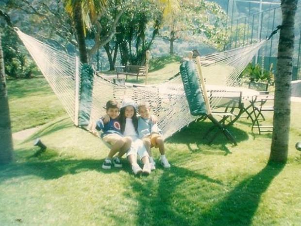 Pedro Lucas e os amigos de 'Gente Inocente', na poca do programa (Foto: Arquivo pessoal)