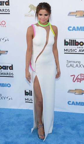 Selena Gomez no Billboard Music Awards (Foto: Robyn Beck/ AFP)