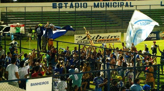 Parnahyba campeão do primeiro turno  (Foto: TV Clube)