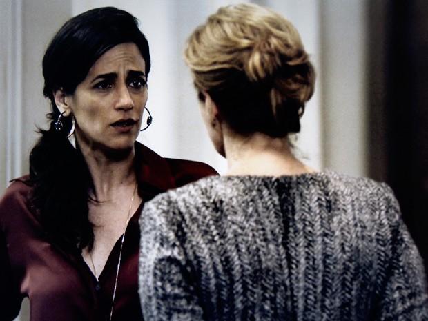 Roberta, Angela (Foto: O Rebu / TV Globo)