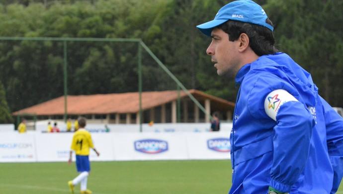 Guilherme Gontijo Brasil sub-12 Cruzeiro Copa Danone Torneio Internacional de Nações (Foto: Vitor Geron)