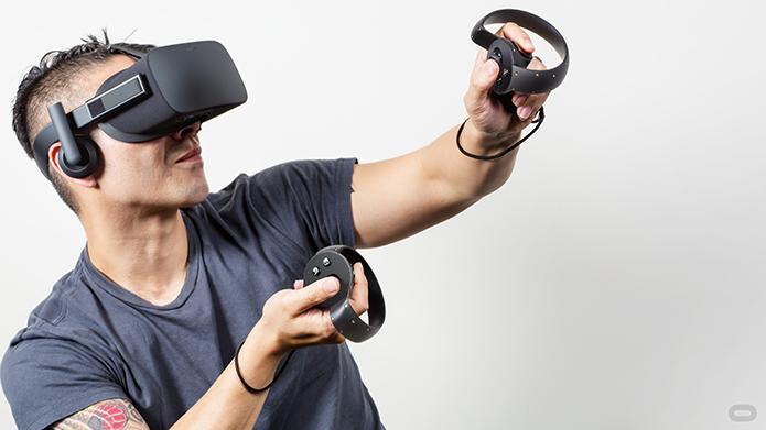 Display poderá reduzir dores de cabeça durante uso de óculos VR (Foto: Divulgação/Oculus)