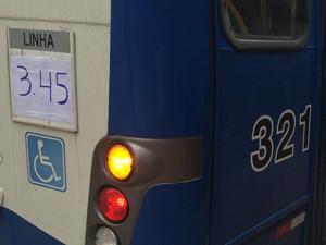 Outros carros foram utilizados para atender a linha verde que está em greve em Campinas (Foto: Felipe Albertoni/ G1)