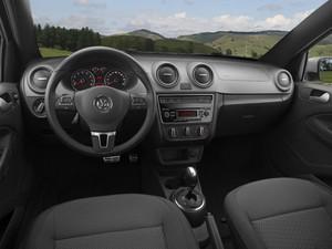Interior do Volkswagen Gol Rallye (Foto: Divulgação)