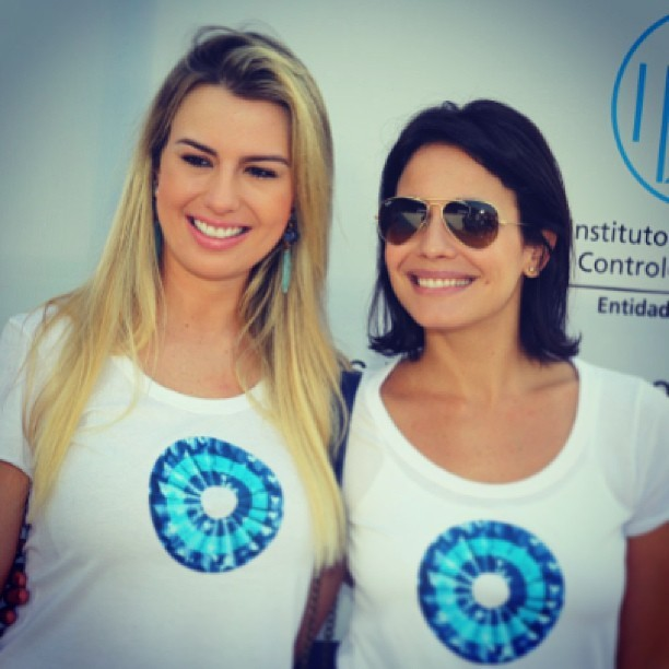 Fernanda Keula e Juliana Knust  (Foto: Instagram/ Reprodução)