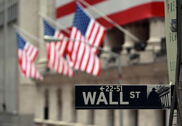 Wall Street, Nova York, Estados Unidos (Foto: Getty Images)