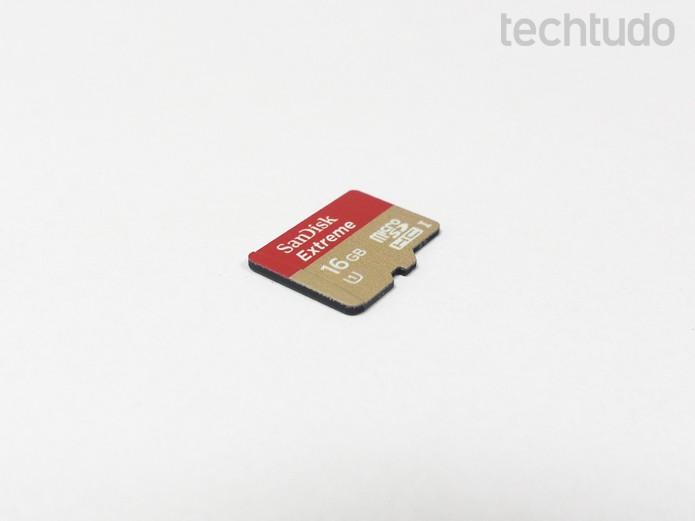 Como formatar ou recuperar arquivos deletados do cartão microSD (Foto: Rodrigo Bastos/TechTudo)