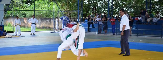 A competição reuniu os melhores judocas de Roraima (Foto: Alberto Rolla/GLOBOESPORTE.COM)