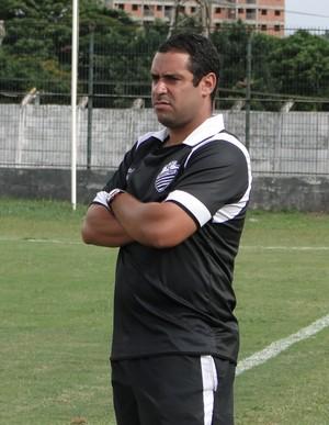 Gustavo Marciano, técnico do Comercial sub-20 (Foto: Rafael Alves / Comercial FC)