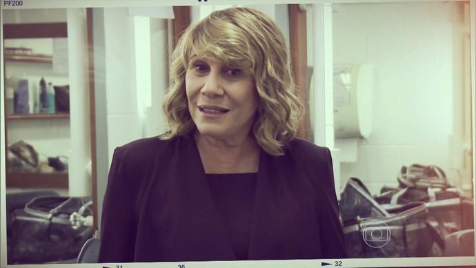 Renata Sorrah mandou recado para o Dia das Mulheres (Foto: TV Globo)