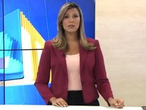 Thaíse Cavalcante comanda o ALTV 1ªEdição (Foto: Reprodução/ TV Gazeta)