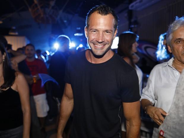 Malvino Salvador em evento na Barra da Tijuca, Zona Oeste do Rio (Foto: Felipe Panfili/ Divulgação)