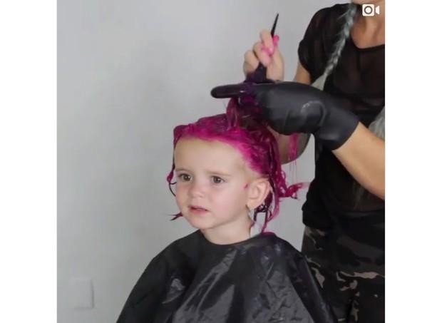 cabelo rosa  (Foto: Reprodução/Instagram)