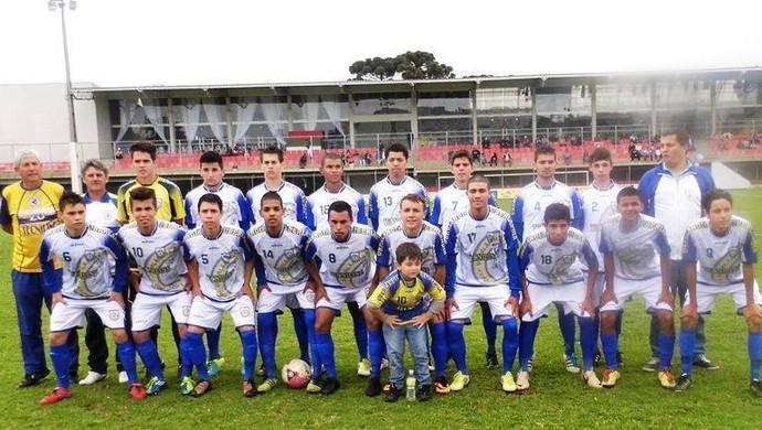 Uberlândia Esporte Club Curitiba (Foto: Arquivo pessoal/Algacir Almeida)