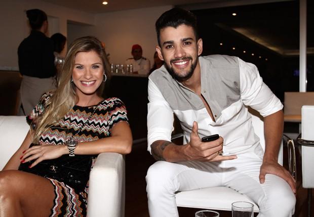 Andressa Suita e Gusttavo Lima (Foto: Claudio Augusto/Foto Rio News)