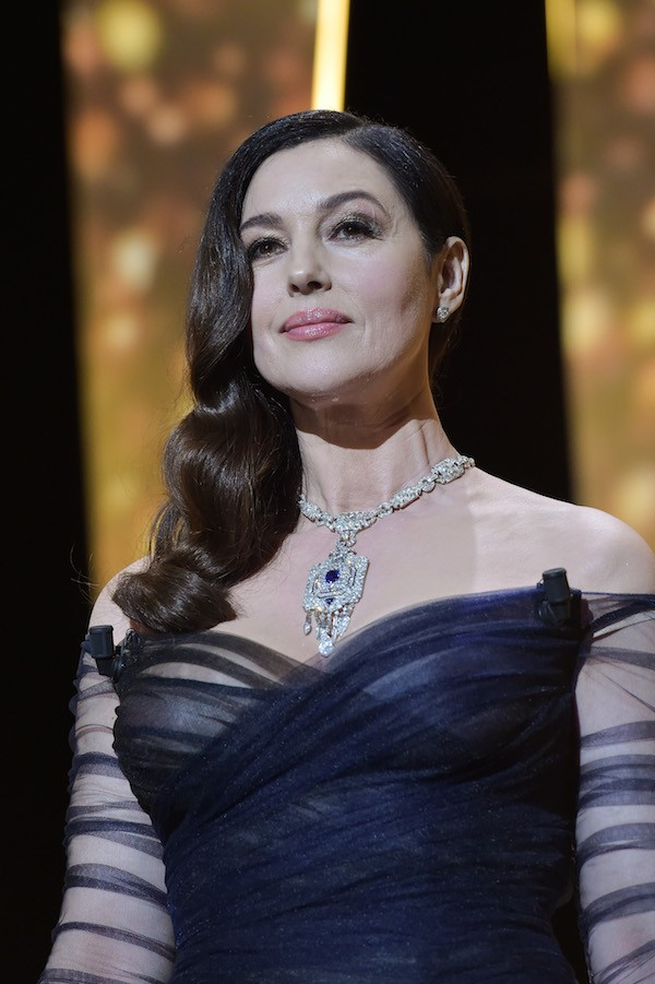 A atriz Monica Bellucci na abertura do Festival de Cannes (Foto: Getty Images)
