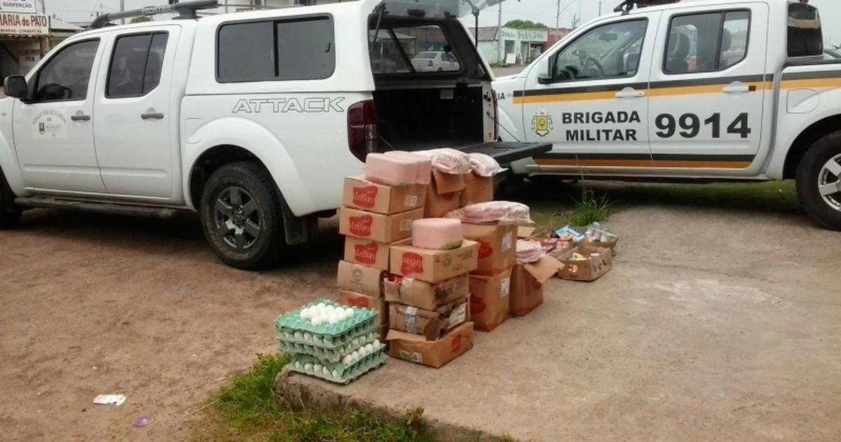 Operação conjunta apreende 300 kg de alimentos irregulares no RS - Globo.com