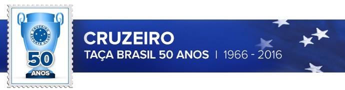 Header 50 ANOS Taca Brasil CRUZEIRO (Foto: infoesporte)