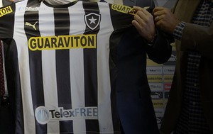 Chamada Carrossel Botafogo Telexfree (Foto: Vitor Silva/SSPress)