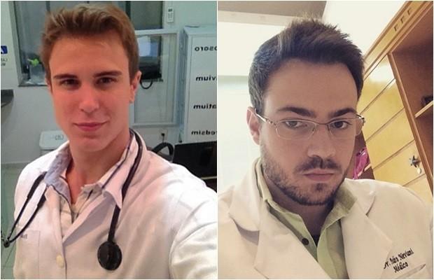 Flávio e Pedro também fazem sucesso nas redes sociais e conquistam seguidores (Foto: Reprodução/Instagram)