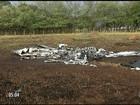 Queda de avião em Goiás mata o piloto e 3 pessoas da mesma família