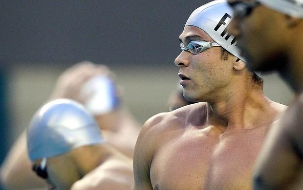 Glauber Silva na Tentativa Olímpica (Foto: Satiro Sodré / Agif)