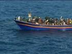 UE pede autorização para ações contra barcos com clandestinos