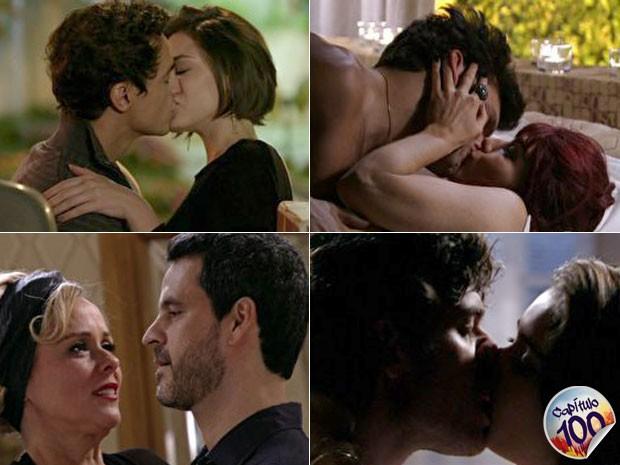 Quantos casais... qual deles você gostou mais? (Foto: Sangue Bom / TV Globo)