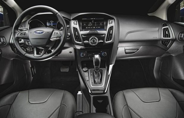 Interior Ford Focus (Foto: Fabio Aro)