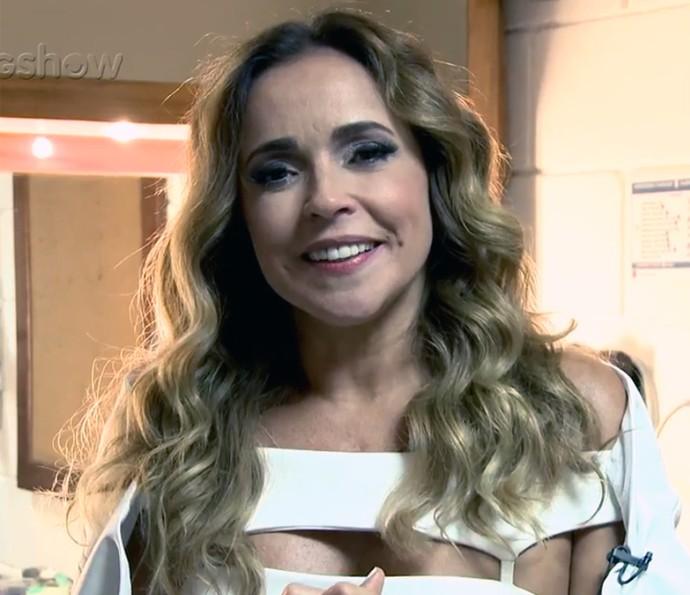Daniela Mercury relembra seus sucessos que foram trilhas de novelas (Foto: Gshow/TV Globo)