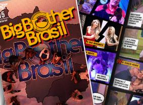 Os fatos mais marcantes da edição em quadrinhos (TV Globo)
