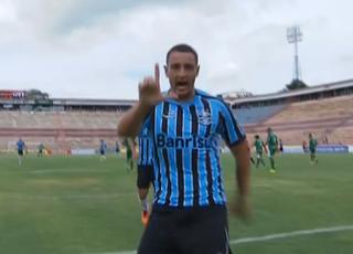 Luiz Felippe Grêmio atacante Copa São Paulo de Futebol Junior (Foto: Reprodução/Sportv)