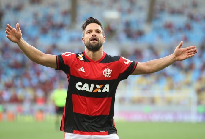 Diego, Flamengo (Foto: Gilvan de Souza / Flamengo)
